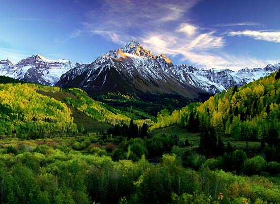Spectacular mountain views for your Colorado hunting trip