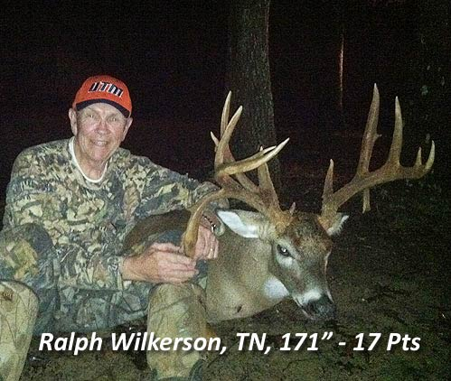 Tennessee has some BIG Whitetail Deer to hunt!