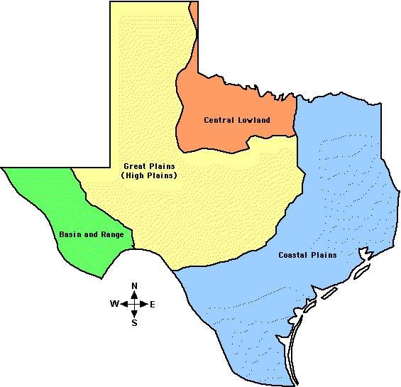 Texas Hunting Regions