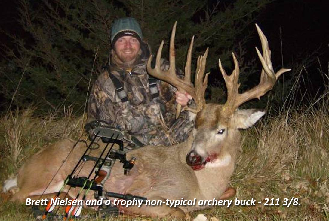 South Dakota Whitetail Deer - Archery Trophy Buck