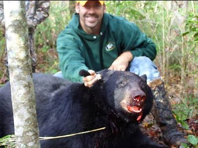 Black Bear Hunts with Cutawhiskie Creek Outfitters